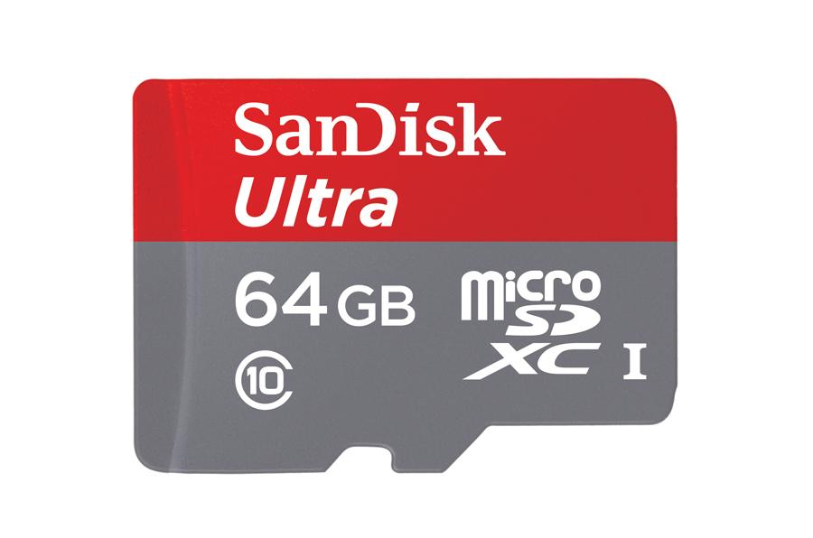 SanDisk Ultra 64GB microSDXC Class 10 UHS-I 80MB/s @ x-kom