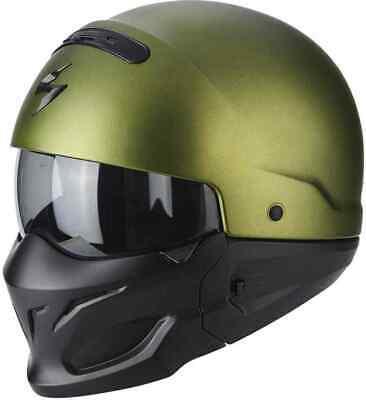 SCORPION EXO COMBAT - designerski kask motocyklowy modułowy (r. rozmiary) [c. z dostawą]