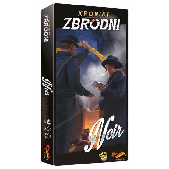 Kroniki zbrodni: Noir - gra planszowa (dodatek)