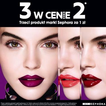 Trzy produkty w cenie dwóch @ Sephora
