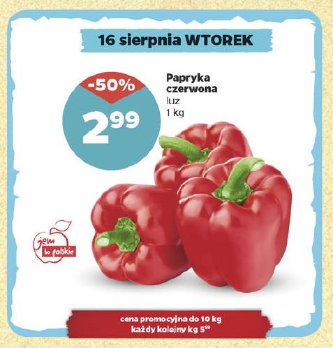 Papryka Czerwona 1 Kg