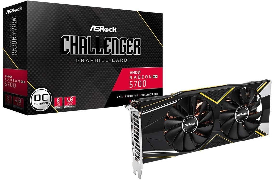 AMD ASROCK RX 5700 Challenger 8GB amazon.fr przedsprzedaż