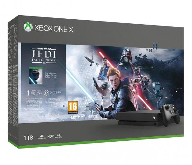 Konsola Microsoft Xbox One X + STAR WARS: Upadły Zakon w x-kom.pl