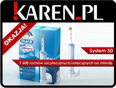Oral-B Vitality 3D White od Karen.pl na Allegro
