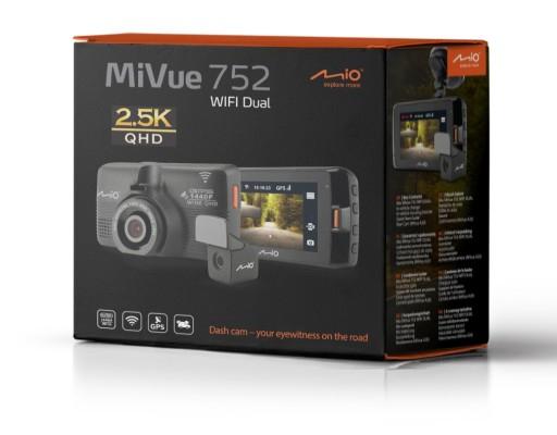Kamera samochodowa MIO MiVue 752 2,5k WIFI DUAL
