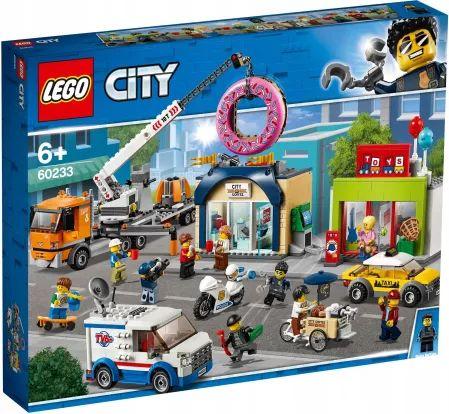LEGO Lego City Otwarcie Sklepu Z Pączkami 60233