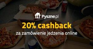 20% cashback z Pyszne.pl w Planet Plus przez weekend
