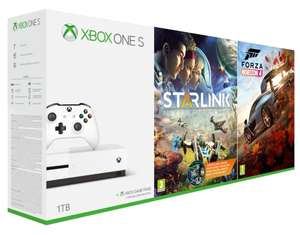 MICROSOFT Xbox One S 1TB + Forza Horizon 4 + Starlink: Battle for Atlas - MOŻLIWE 944z;