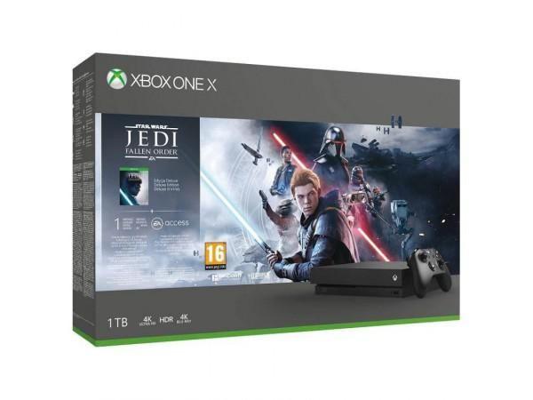 Xbox One X 1TB + Star Wars Jedi: Upadły Zakon Deluxe