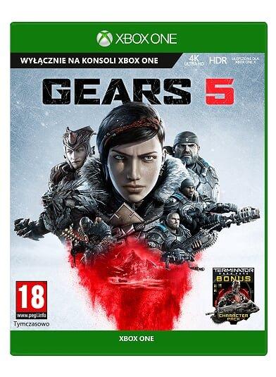 Electro Oraz Avans Gears of War 5 Gra XBOX ONE Wersja Pudelkowa.