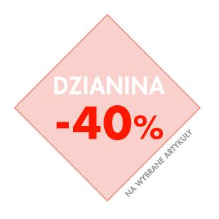 40% rabatu na wybrane produkty dzianinowe @ Bershka