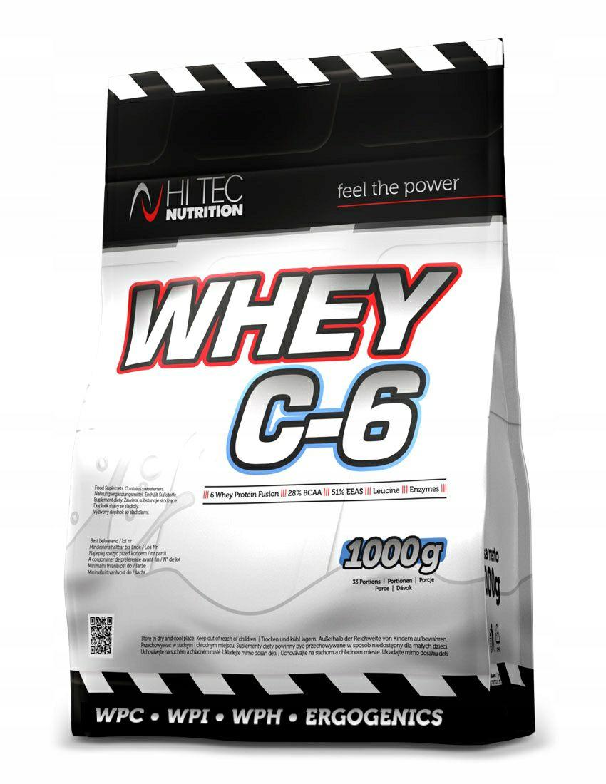 Białko HI TEC Whey C-6 CZEKOLADA 1000 g