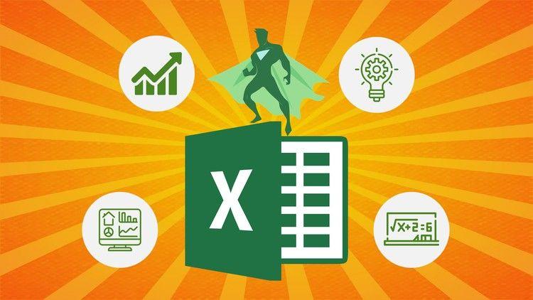 Microsoft Excel (od zera do bohatera kompletny przewodnik 2020) za darmo z kodem z Udemy przez ograniczony czas