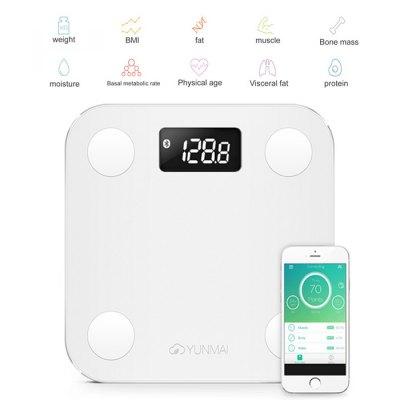YUNMAI Mini Smart Fat Scale - smart waga @Gearbet