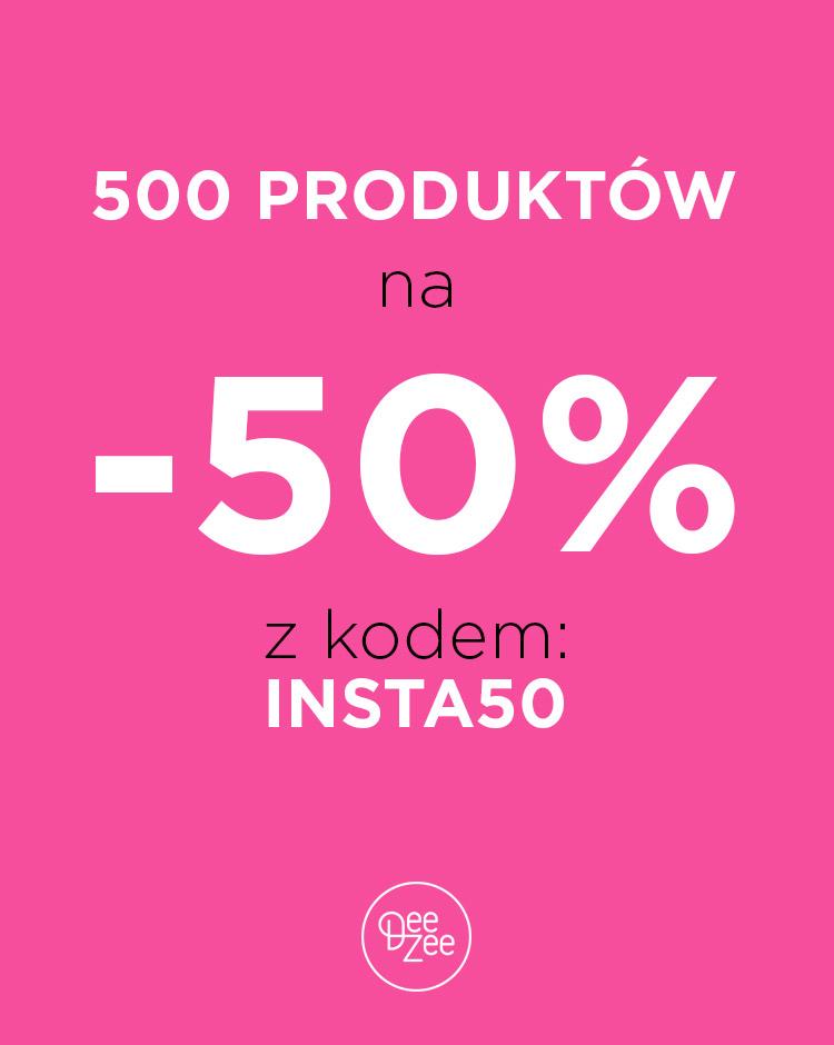 DeeZee: Wybrane produkty -50% + rabat -15% na nowości