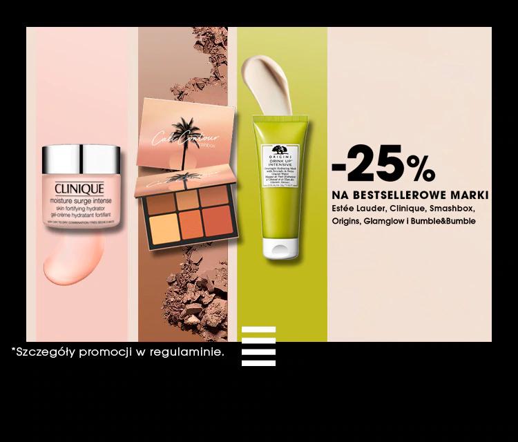 10-15% rabatu na zakupy oraz 25% zniżki na wybrane marki @ Sephora