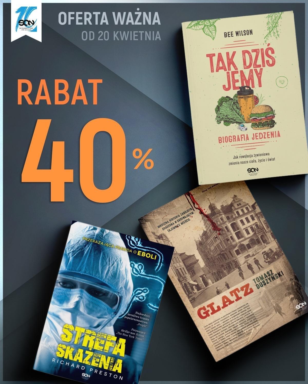 -40% na książki wydawnictwa SQN