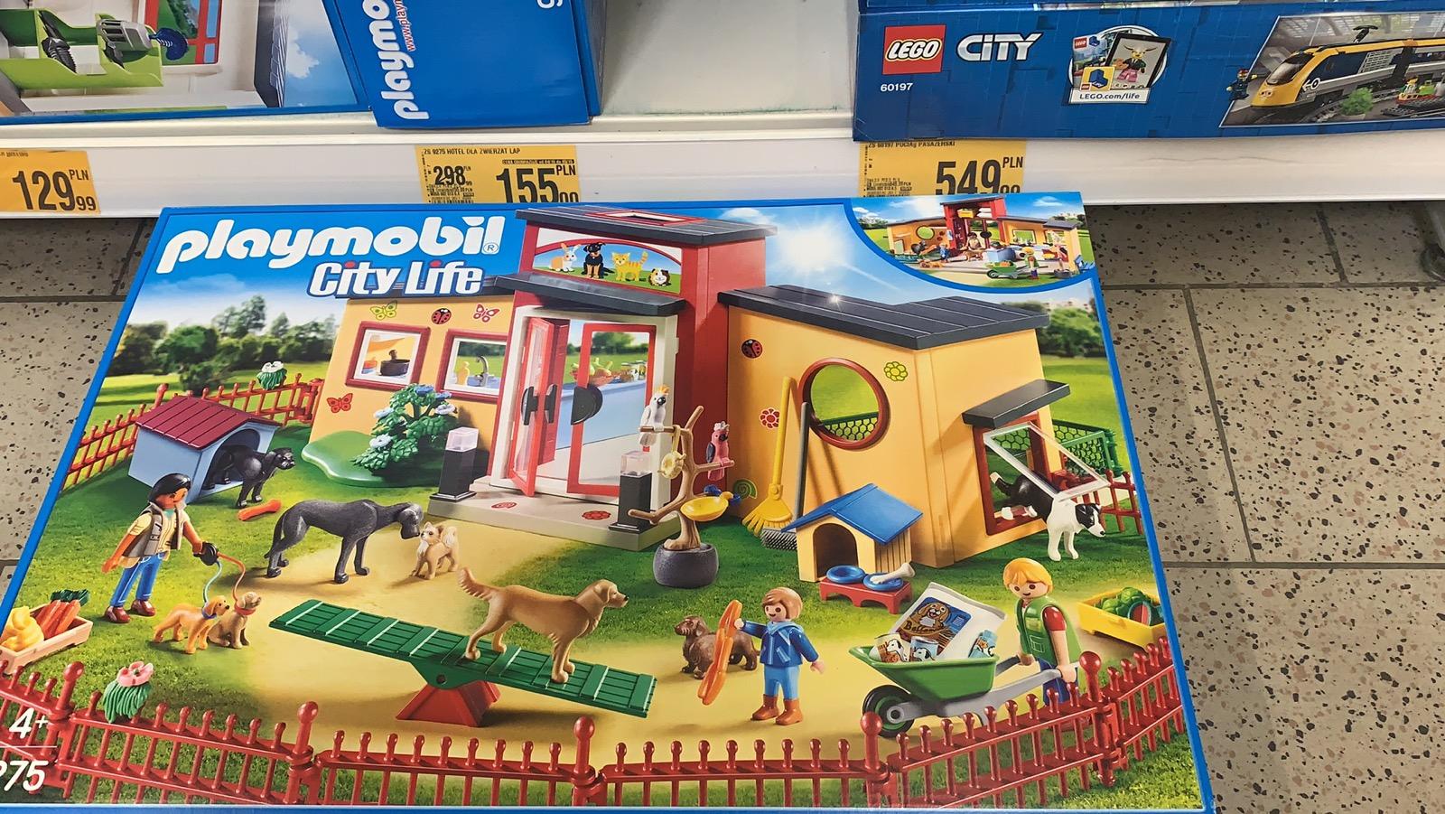 Playmobil 9275 Hotel dla psów w Auchan Bytom