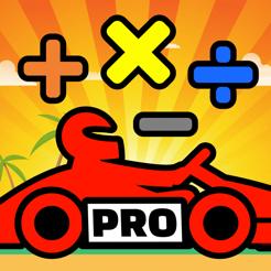 Math Racing 2 Pro | Gra edukacyjna matematyka | za darmo na iOS