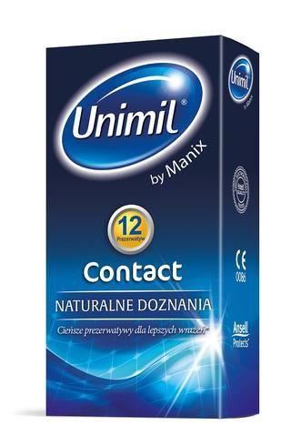 Prezerwatywy Unimil Contact, 12 sztuk, sprzedawca tagomago-pl