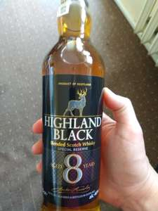 Whisky Highland Black 8-letnia 0,7 ALDI