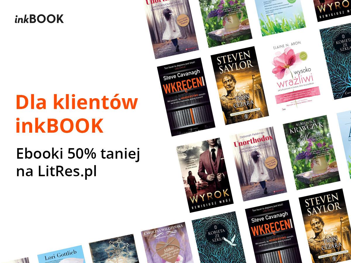 Ebooki na LitRes.pl 50% taniej