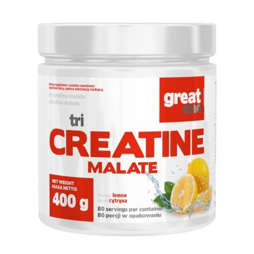 KREATYNA Great One Tri Creatine Malate 400g
