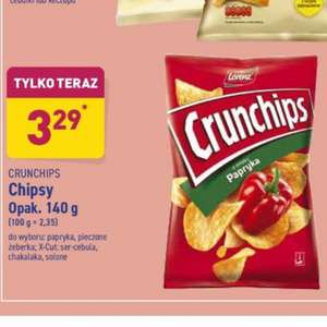 Chipsy Crunchips 140g - Aldi