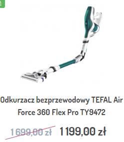 Odkurzacz bezprzewodowy TEFAL Air Force 360 Flex Pro