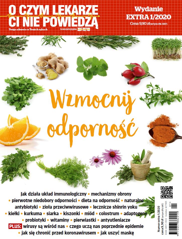 Wzmocnij Odporność magazyn o zdrowiu wydanie specjalne nt wzmacniania odporności EBOOK