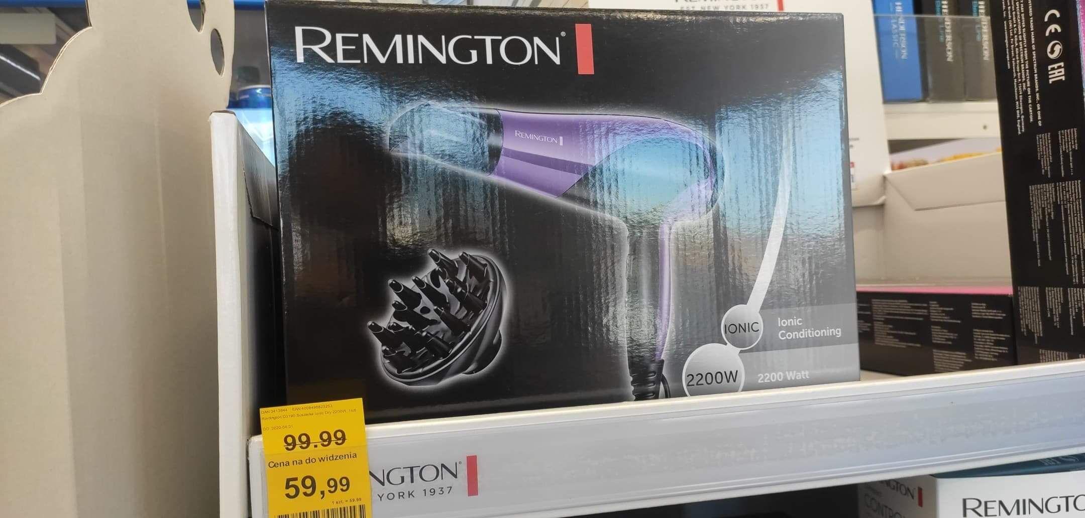 Suszarka do włosów Remington Ionic Dry 2200 - Rossmann