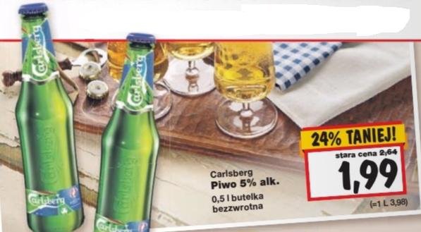 Carlsberg - butelka 0,5l