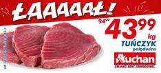 Tuńczyk polędwica kg @Auchan