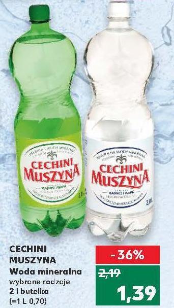 CECHINI Muszyna Woda mineralna 2l wybrane rodzaje @Kaufland