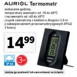 Auriol termometr za 14,99zł @ Lidl