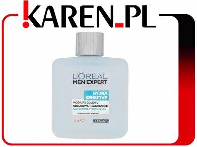 Woda po goleniu L'oreal Men Expert Hydra Sensitive @Karen na allegro