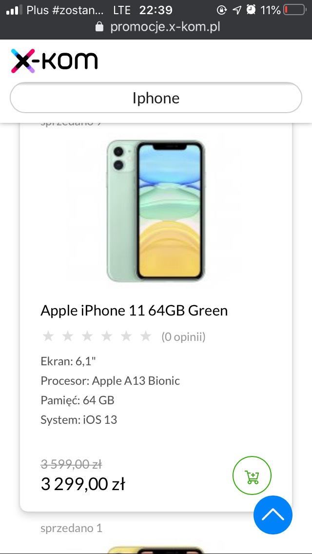 Iphone 11 64gb (Green/Yellow)