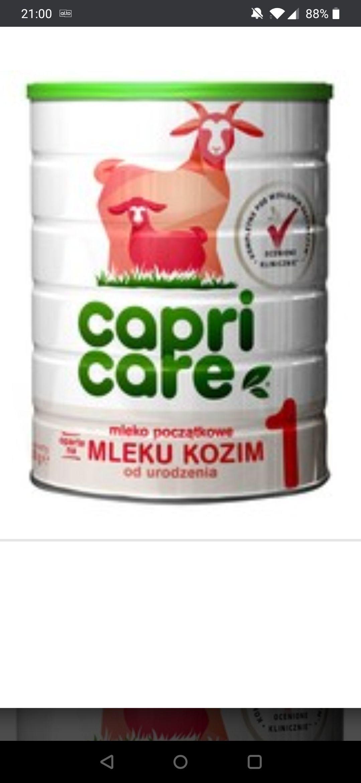 Mleko następne na bazie mleka koziego Capricare 2/3 w promocji w wielopakach w aptece DOZ