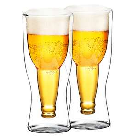 4Home Szklanka termiczna do piwa Hot&Cool 370 ml, 2 szt