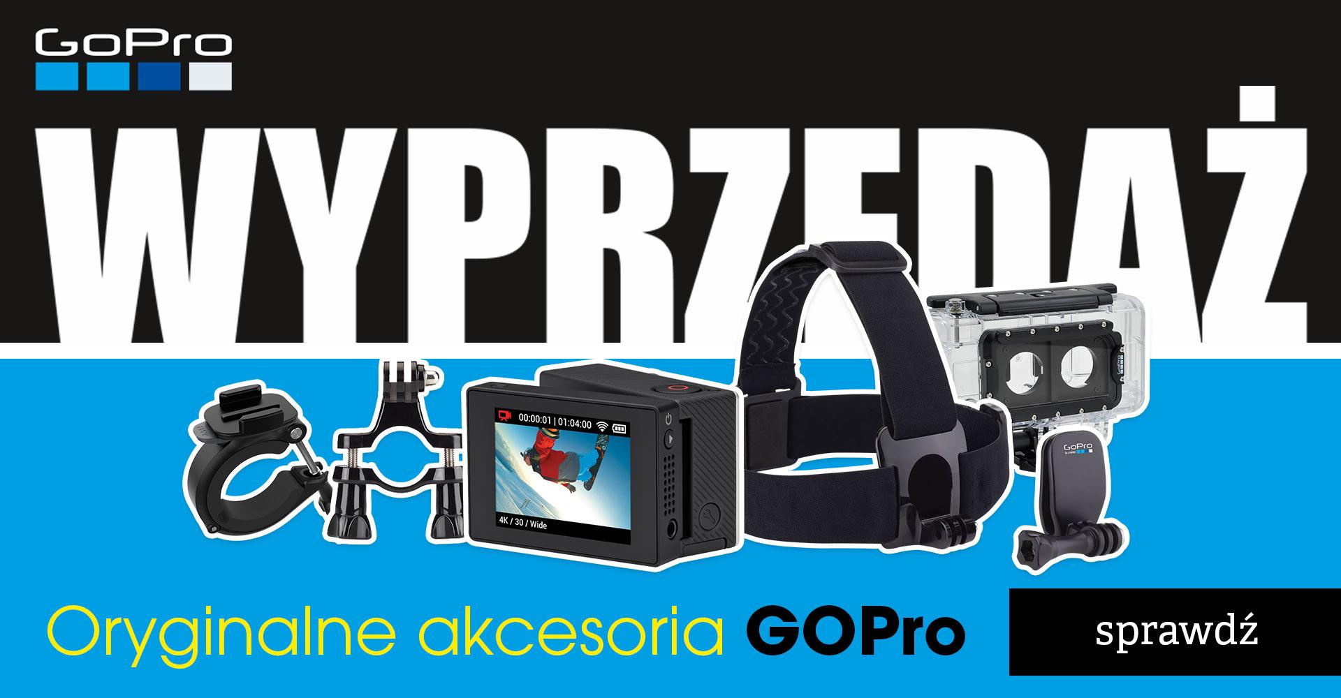 Akcesoria GoPro m.in. Bag Of Mounts z 99zł na 39zł