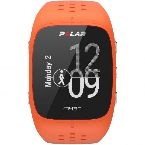 Polar M430 pomarańczowy