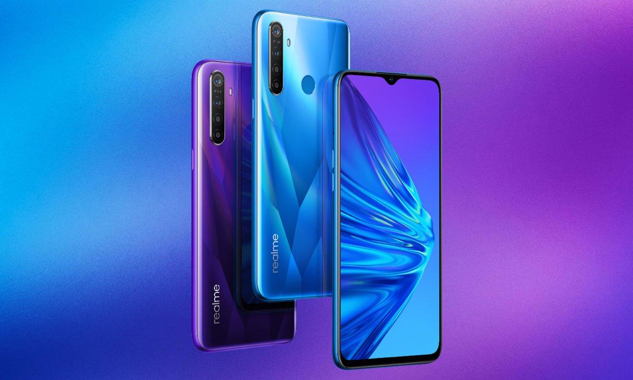 Smartfon Realme 5 4+128 Crystal Blue
