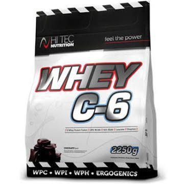 Whey C6 2250g hi tec nutrition