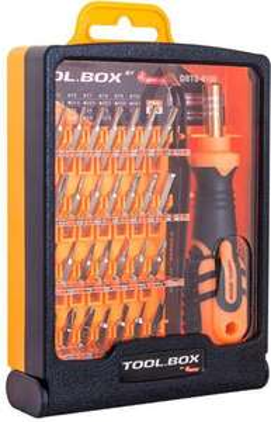 DigitalBOX Zestaw bitów Tool.Box 4mm z rękojeścią (DBTB-8100) @ Morele