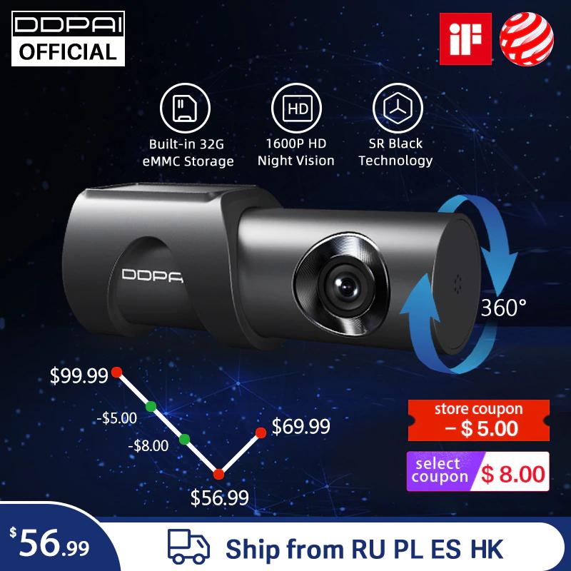 Kamera samochodowa DDPai Mini3