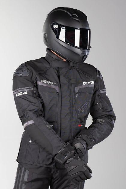 Kurtka motocyklowa turystyczna RST Adventure 3 Czarna