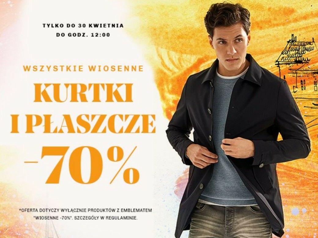 Vistula -70% wszystkie wiosenne kurtki i płaszcze