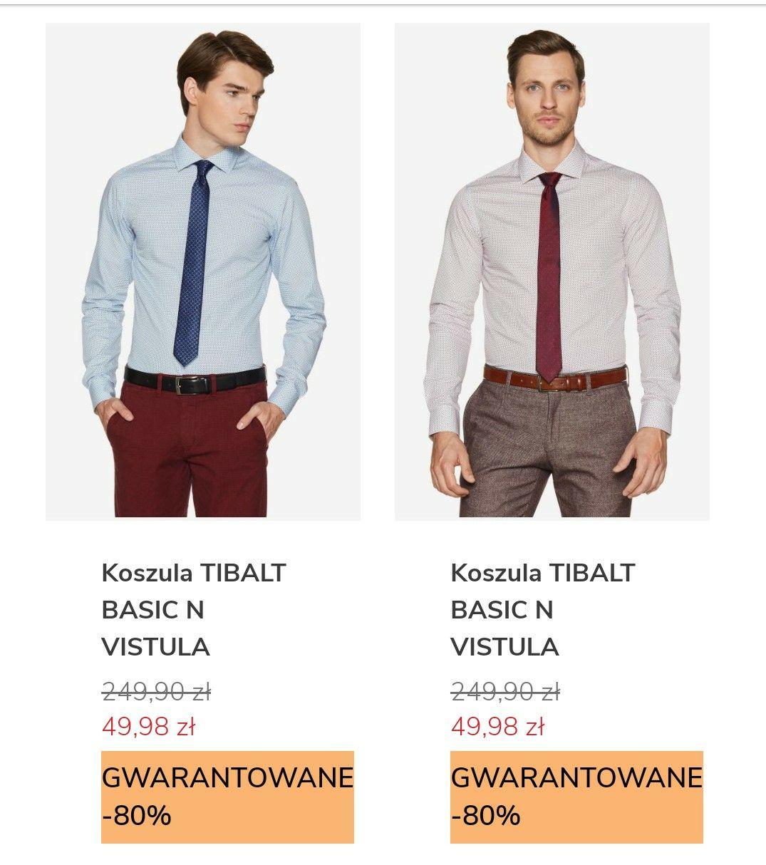 Vistula -80% gwarantowane na kurtki, garnitury i koszule