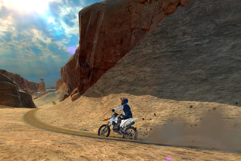 Dirt Bike Unchained - na iOS i Androida za darmo.