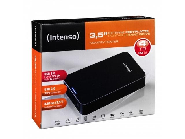 Dysk zewnętrzny Intenso HDD 4TB 3,5'' USB 3.0